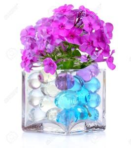 Váza s hydrogelem